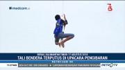Momen Siswa Panjat Tiang Bendera Juga Terjadi di Berau