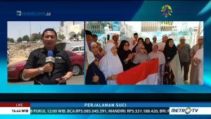 Jemaah Haji Rayakan HUT ke-73 RI