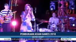 Pembukaan Asian Games 2018 di Palembang Dibalut Suasana Santai