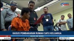 Buronan Pembakar Satu Keluarga di Makassar Ditangkap