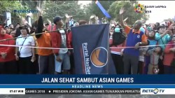 Ratusan Warga Ikuti Jalan Sehat NasDem Palembang
