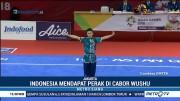Cabor Wushu Sumbang Medali Pertama untuk Indonesia