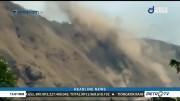 Video Amatir Longsor Akibat Gempa Susulan di NTB