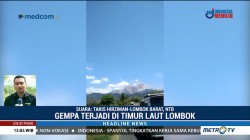 Dua Gempa Susulan yang Guncang Lombok Hanya Berselang 5 Menit
