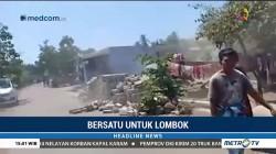 Video Kepanikan Warga saat Gempa Susulan Guncang Lombok
