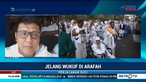 Jemaah Haji Indonesia Bergerak ke Arafah Secara Bertahap