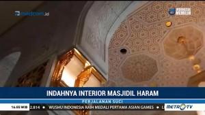 Melihat Keindahan Interior Masjidil Haram