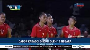 Timnas Kabaddi Putri Indonesia Kalahkan Jepang 30-22