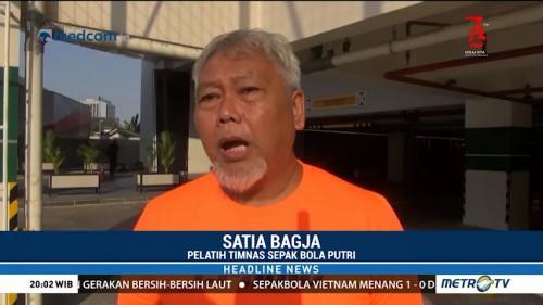 Timnas Sepak Bola Putri Indonesia Harus Hengkang dari Wisma Atlet