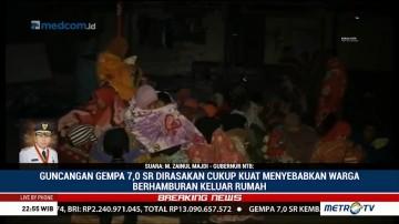 Gempa Susulan 7 SR, Gubernur NTB Berharap Tak Ada Korban Jiwa