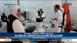 Jelang Wukuf, Sejumlah Jemaah Haji Alami Kelelahan