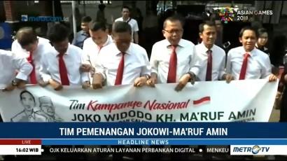 Struktur Tim Kampanye Nasional Jokowi-Ma'ruf Diserahkan ke KPU