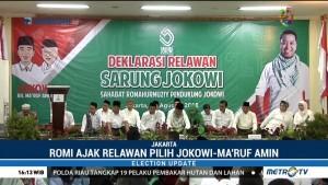 Sahabat Romahurmuziy Deklarasikan Dukungan untuk Jokowi-Maruf