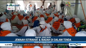 Pascabadai Pasir, Aktivitas Jemaah Haji Kembali Normal
