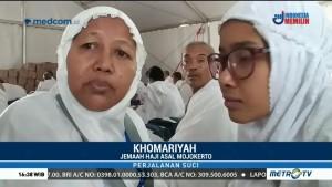 Jemaah Haji Ungkap Perasaan saat Arafah Diterjang Badai Pasir