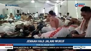 Jemaah Haji Jalani Wukuf
