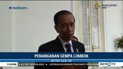 Jokowi Siapkan Inpres soal Penanganan Gempa Lombok