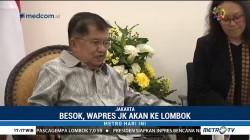 JK Bertolak ke Lombok Besok