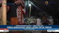 Warga Desa Telaga Waru Manfaatkan Tanah Lapang untuk Tinggal