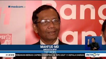 Mahfud Belum Bisa Gabung Timses Jokowi-Ma'ruf