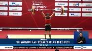 Indonesia Tambah Dua Medali dari Angkat Besi