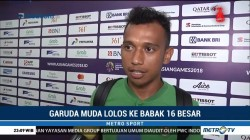 Irfan Jaya tak Ingin Terlena Usai Cetak Gol Kedua di Asian Games