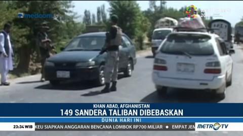 149 Sandera Taliban Berhasil Dibebaskan