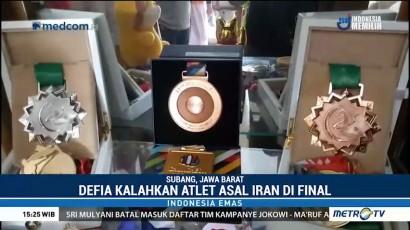 Perjuangan Defia Raih Medali Emas