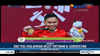 Eko Yuli Tambah Medali Emas Indonesia