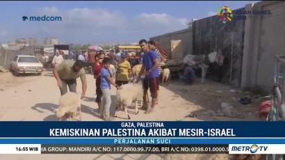 Warga Palestina Sulit Berkurban Akibat Blokade Israel-Mesir