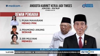 Ini Tim Kampanye Nasional Jokowi-Ma'ruf Amin