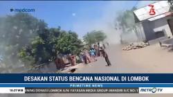Desakan Status Bencana Nasional di Lombok
