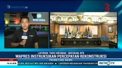 Jusuf Kalla Instruksikan Percepatan Rekonstruksi Gempa Lombok