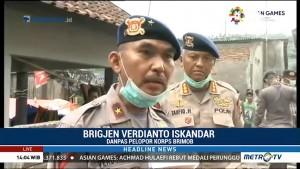 Ratusan Brimob Bantu Pemulihan Pascagempa Lombok