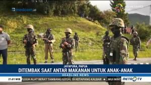 Pelaku Penembakan Dua Prajurit TNI di Papua Masih Diburu