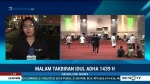 Persiapan Jelang Salat Idul Adha di Masjid Istiqlal