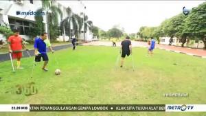 INAF Jadi Wadah Difabel Berprestasi di Bidang Sepak Bola
