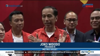 Eko Yuli Raih Emas, Jokowi Ucapkan Rasa Syukur