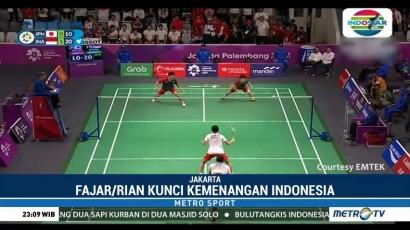 Singkirkan Jepang, Indonesia Tantang Tiongkok di Final Bulu Tangkis Beregu Putra