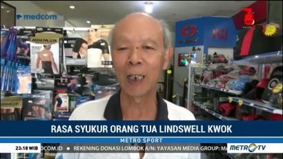 Ayah Lindswell Bangga Atas Prestasi Anaknya