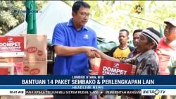 Media Group Salurkan Sembako ke Lombok Utara