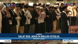 Wapres JK dan Sejumlah Dubes Salat Id di Masjid Istiqlal