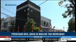 Perayaan Iduladha di Masjid tak Berkubah
