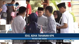 Momen Iduladha, Tahanan KPK Dijenguk Keluarga