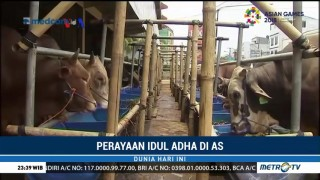Muslim Indonesia di AS Salurkan Kurban untuk Lombok