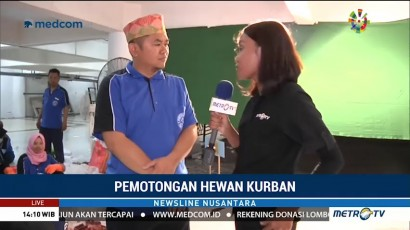 Masjid Al-Akbar di Surabaya Kelola Limbah Hewan Kurban Dijadikan Pupuk
