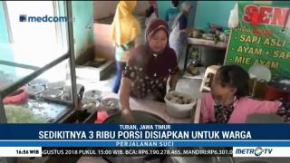 Momen Iduladha, Penjual Bakso Ini Gratiskan Dagangannya