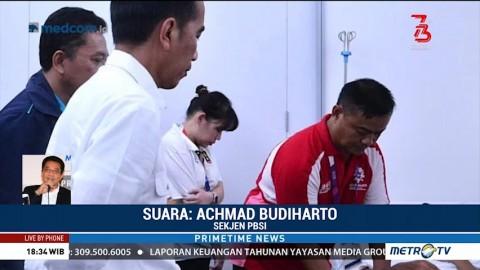 Perhatian dan Dukungan Jokowi kepada Para Atlet