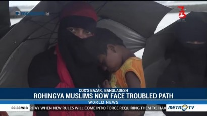 Rohingya Muslims Now Face Troubled Path