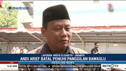 Andi Arief Batal Penuhi Panggilan Bawaslu